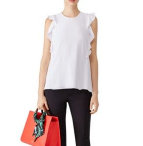 White Carven top. Size large, 40.